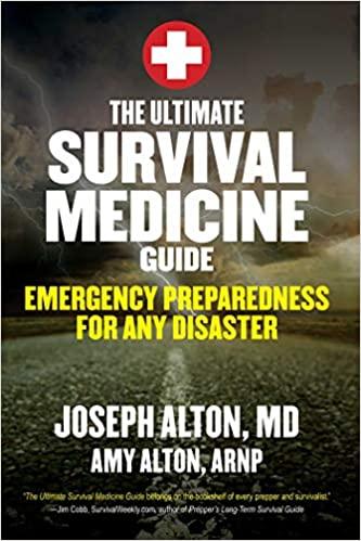 Book Cover, Ultimate Survival Medicine Guide
