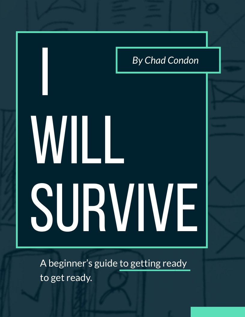 eBook cover for I Will Survive